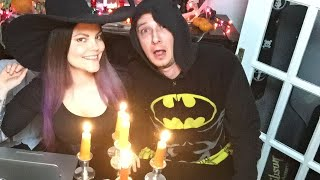 Trying on Halloween Costumes LIVE!!! thumbnail