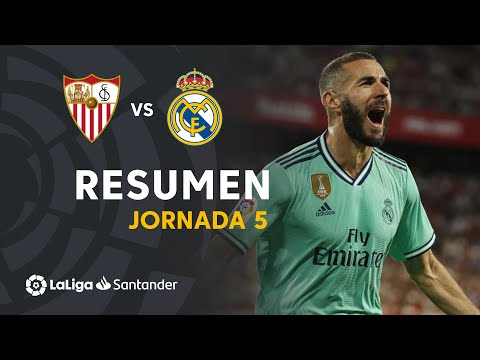 Resumen de Sevilla FC vs Real Madrid (0-1)