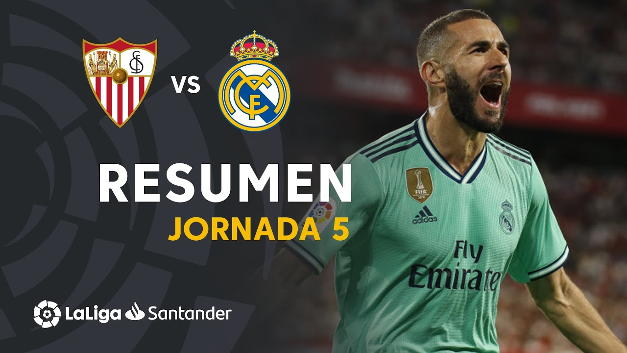 El resumen del Real Madrid vs. Sevilla, de La Liga: vdeo, goles y ...