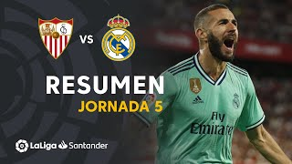 Highlights Sevilla FC vs Real Madrid (0-1)