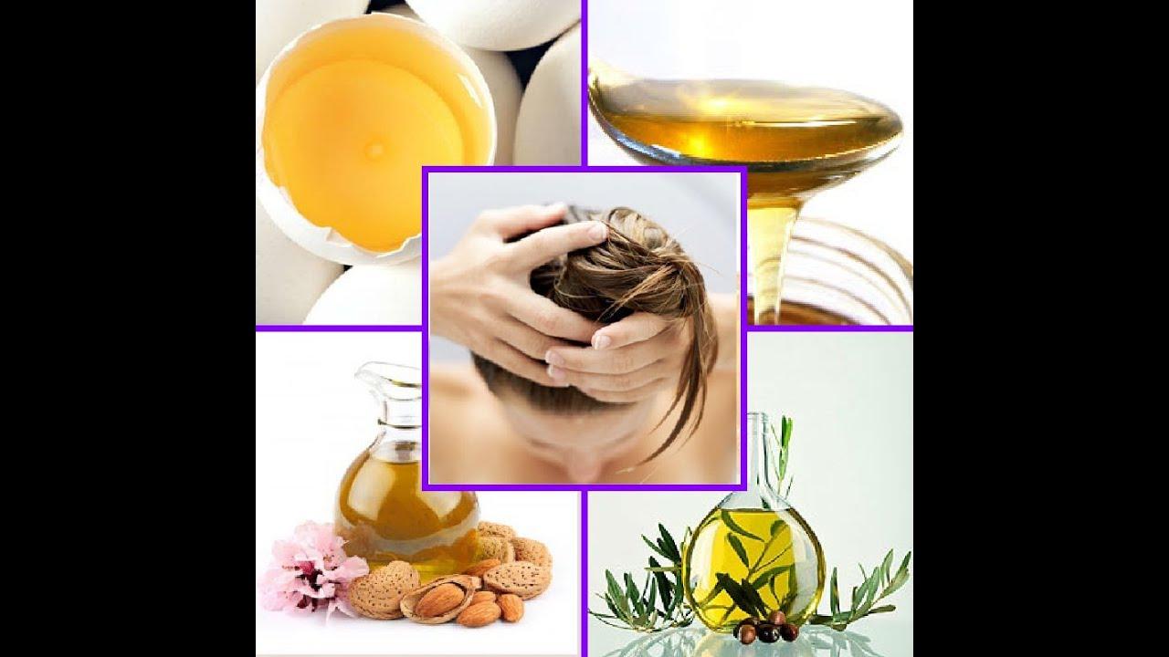 Haarpflege mit ei und olivenol