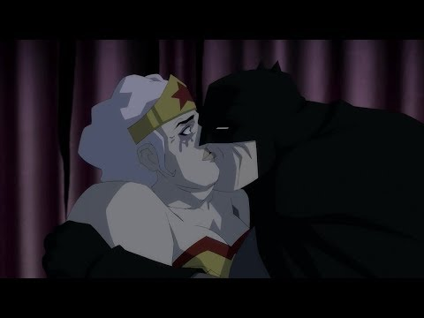 Batman And Selina Kyle (former Catwoman)! Kiss!