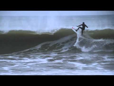 Surfing the Coldcoast - Denmark