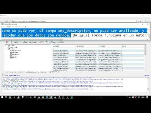 Hacking Database time test