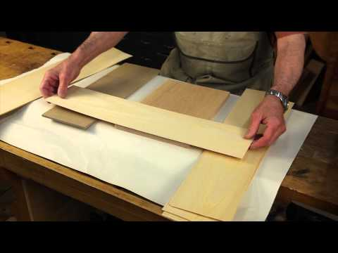 Applying Veneer to a Panel