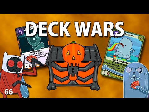 Adventure Time : Card Wars - Trick Or Treat! Chest Opening! 66 - iOS iPhone iPod iPad Android