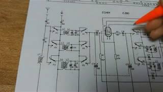 Jak funguje rádio- vysvětlení zapojení (koncepce superhet, Tesla Tenor)