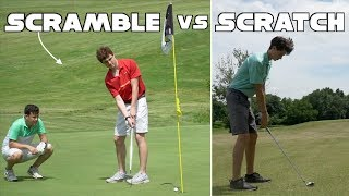 Two High Handicap Golfers Play a Scramble Against Me... Who wins?