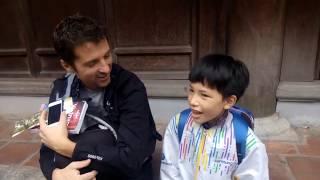 Cậu bé Hải Dương 10 tuổi trở thành quán quân cuộc thi tiếng Anh   VnExpress iOne 2