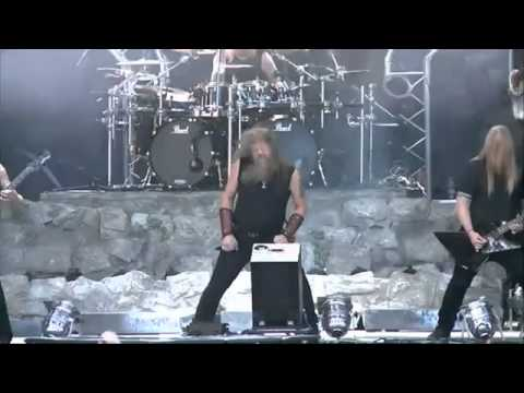 AMON AMARTH   As Loke Falls Live at Bloodstock Open Air   11 08 2014