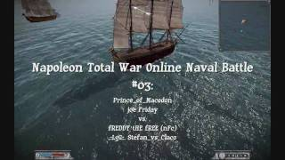 Napoleon Total War Online Naval Battle #03
