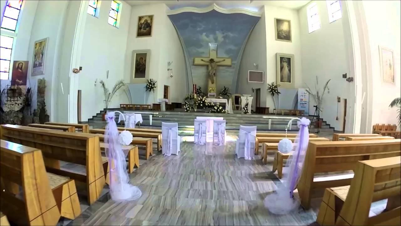 Dekoracja Kościoła Do ślubu Boguchwała Dekoracje ślubne Rzeszów