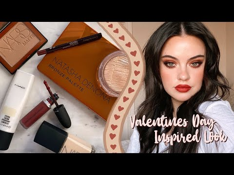 RUSTY REDS | Valentine's Day Inspired Look | Julia Adams