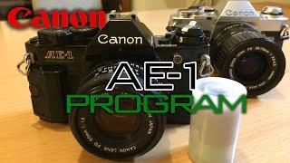 【Canon AE-1 PROGRAM】キヤノンの謎の一眼レフを入手したぞ!