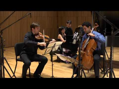 Horszowski Trio plays Brahms Trio No  3 in C Minor Op  101