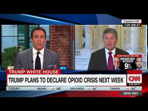 Manchin on drug czar nominee: Over my dead body