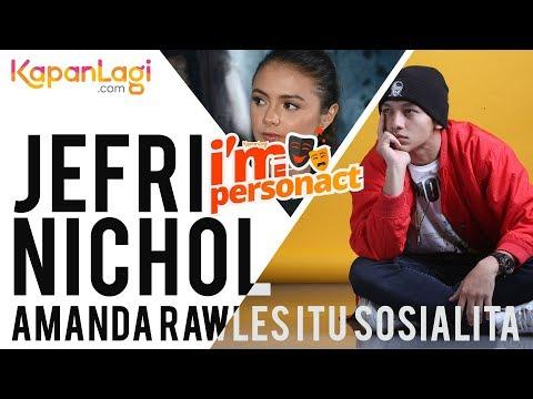 Jefri Nichol Ungkap Hobi Amanda Rawles