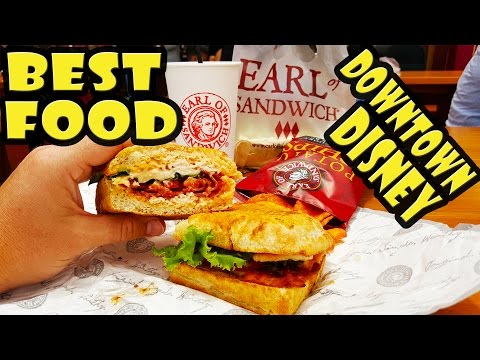 Best Food at Downtown Disney - Earl of Sandwich