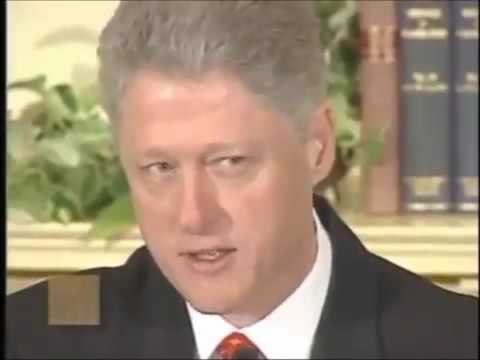Bill Clinton Lie   I DID NOT HAVE Sexual Relations with that Woman Lewinsky