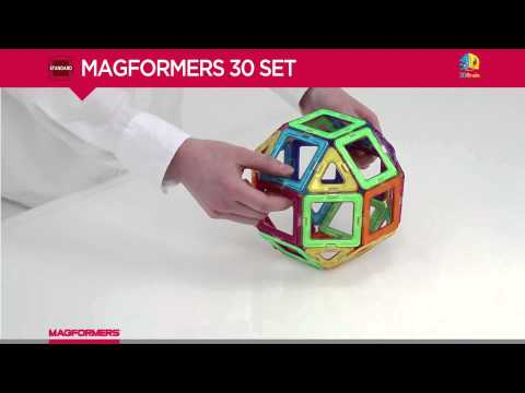 MAGFORMERS STANDARD RAINBOW 30PC SET