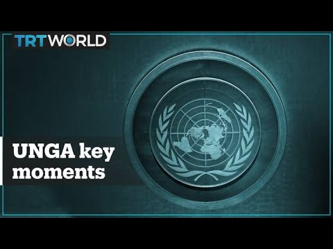 Here are the key moments from the 2019 UN General Assembly