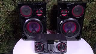 LG CJ98 3500 Watt Party Speakers - MIND BLOWN!