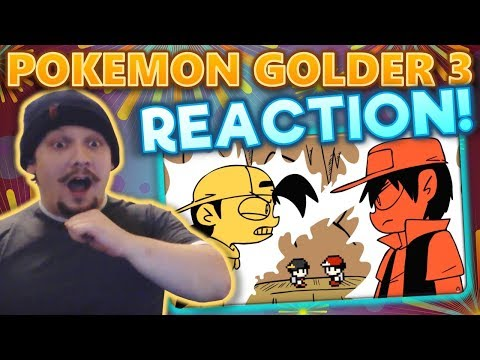 Reaction To Pokemon Golder Part 3 By MattyBurrito MB!