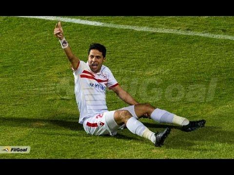 اصابة محمد ابراهيم لاعب الزمالك في مباراة صن داونز خطيرة جداً