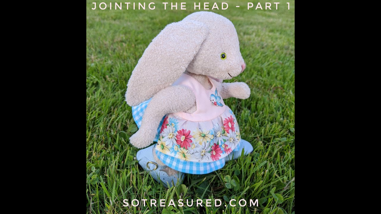 How To Joint a Teddy Dolly Head - Part 1