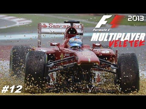 F1 2013: MULTIPLAYER VELETEK // R13: SZINGAPUR-MARINE BAY // #13