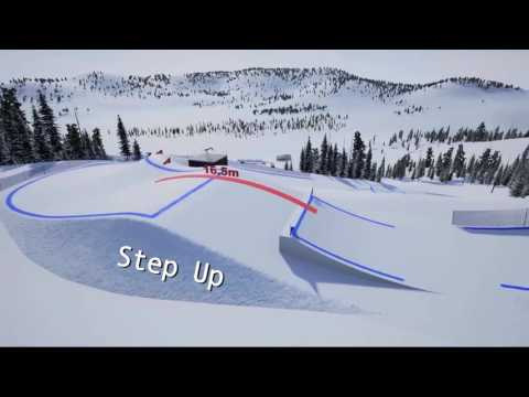 Innichen/San Candido 3D course preview | FIS Freestyle Skiing