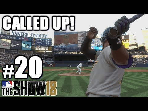 I GOT CALLED UP!   MLB The Show 18   Road to the Show #20