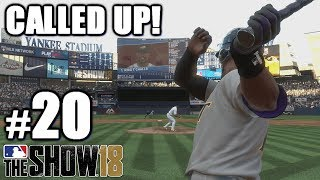 I GOT CALLED UP! | MLB The Show 18 | Road to the Show #20