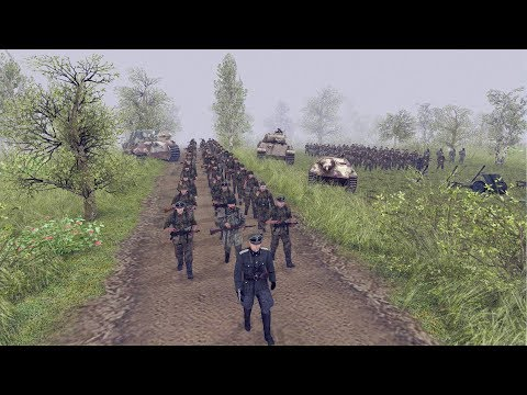 LAST GERMAN ASSAULT OF WWII APRIL 1945 | Men of War: Assault Squad 2 Gameplay