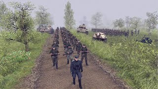 LAST GERMAN ASSAULT OF WWII APRIL 1945 | Men of War: Assault Squad 2 Gameplay