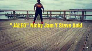 """JALEO"" Nicky jam y steve Aoki Video"