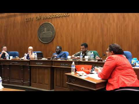 Watch Harrisburg Council vote on new member