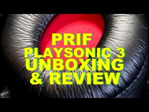 PRIF Playsonic 3 Headset Unboxing & Review - Turtle Beach Competition?