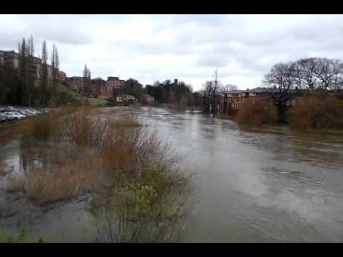 River Severn in Shrews...