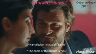 cesur ve guzel 13 i love you for real indonesian english sub