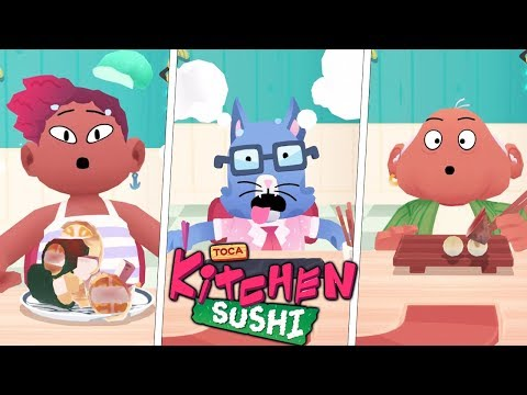 Toca Kitchen Sushi - I Made The Spicy Sushi in The World