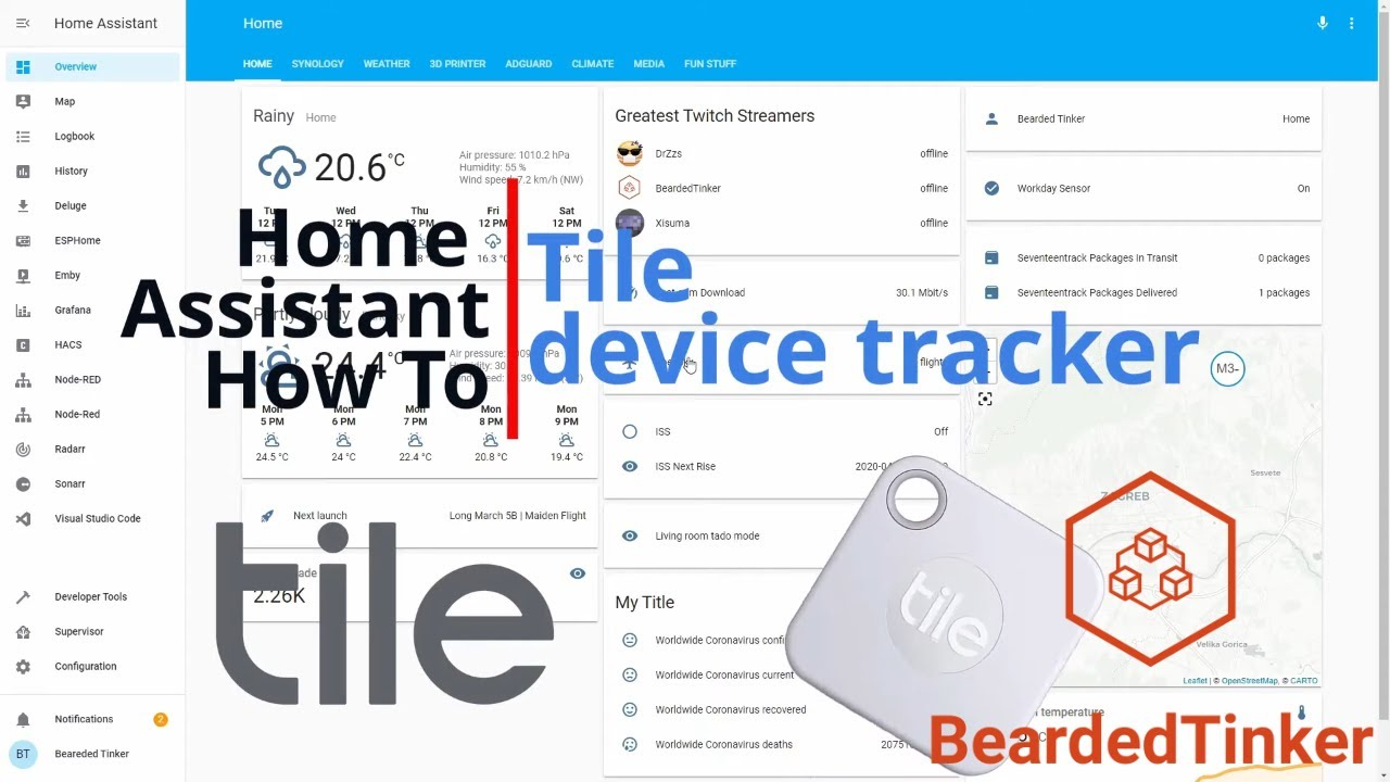 home assistant how to tile tag as device tracker