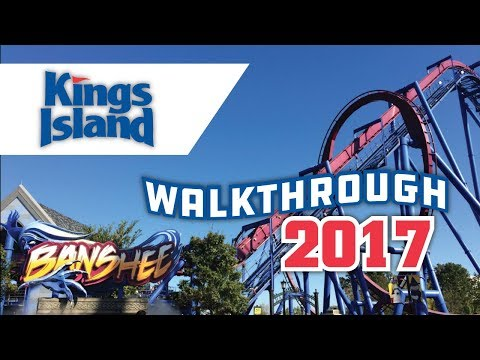 Kings Island Walkthrough 2017