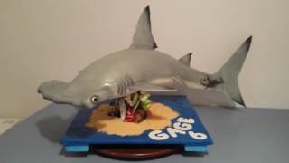 Hammer head 3D shark