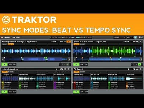 Traktor Pro 2 Sync Modes Tutorial: Beat Sync vs Tempo Sync