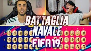 😱BATTAGLIA NAVALE su FIFA 19! INDOVINA il CALCIATORE CHALLENGE vs ENRY LAZZA!