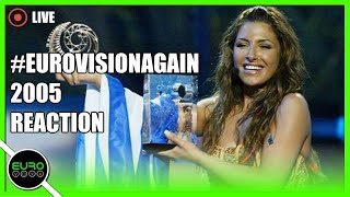 #EUROVISIONAGAIN: EUROVISION 2005 REACTION