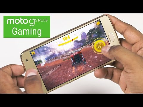 Moto G5 Plus - Can it GAME? (w/ Benchmarks)