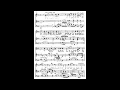 14 Non posso disperar (24 Italian Songs and Arias) piano melody and accompaniment
