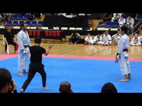 6th World Cup KWF   Kumite   Masamichi Otsuka   (Final)